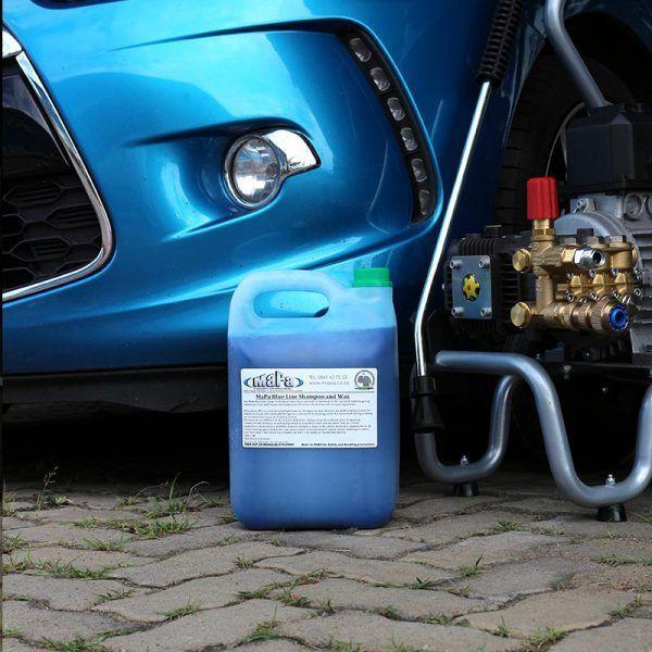Blue Line Premium Car Shampoo and Wax MaPa Cleaning