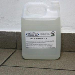 Multi Purpose Acid MaPa Cleaning