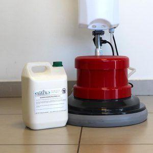 24% Polymer Floor Single Disc MaPa Cleaning