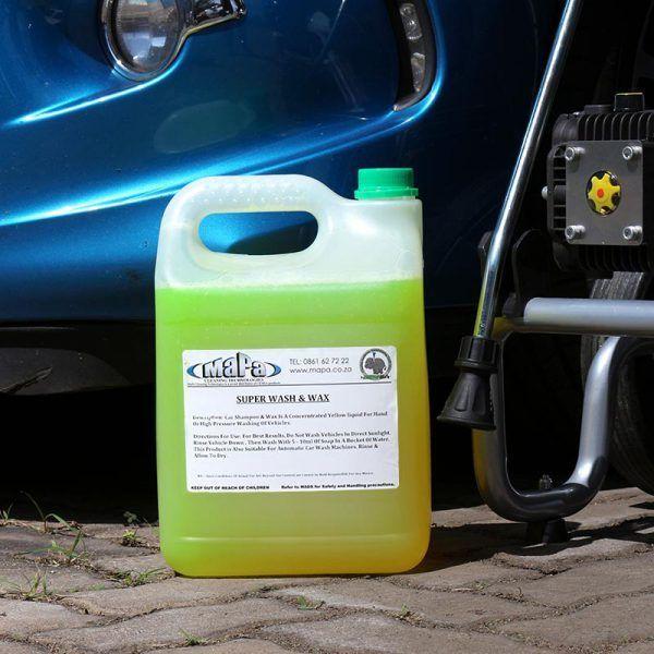 Super Wash and Wax Car Wash Foamer MaPa Cleaning