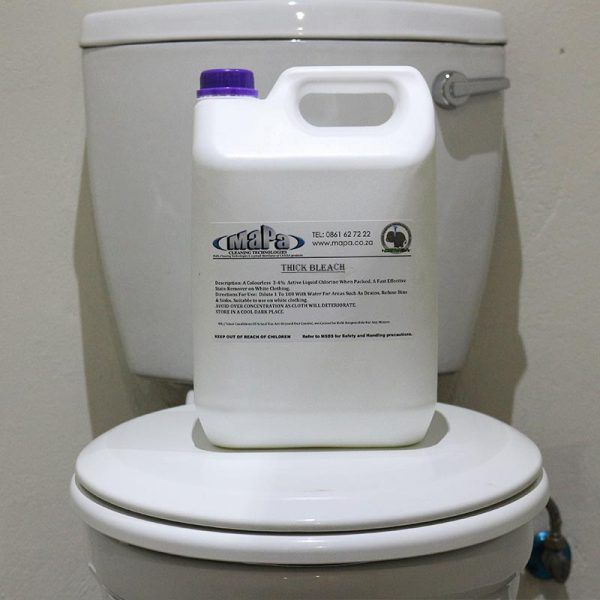 Thick Bleach Disinfectant MaPa Cleaning