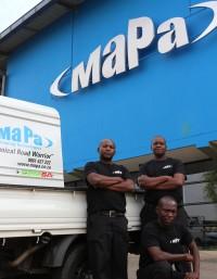 On road technicians car wash machines