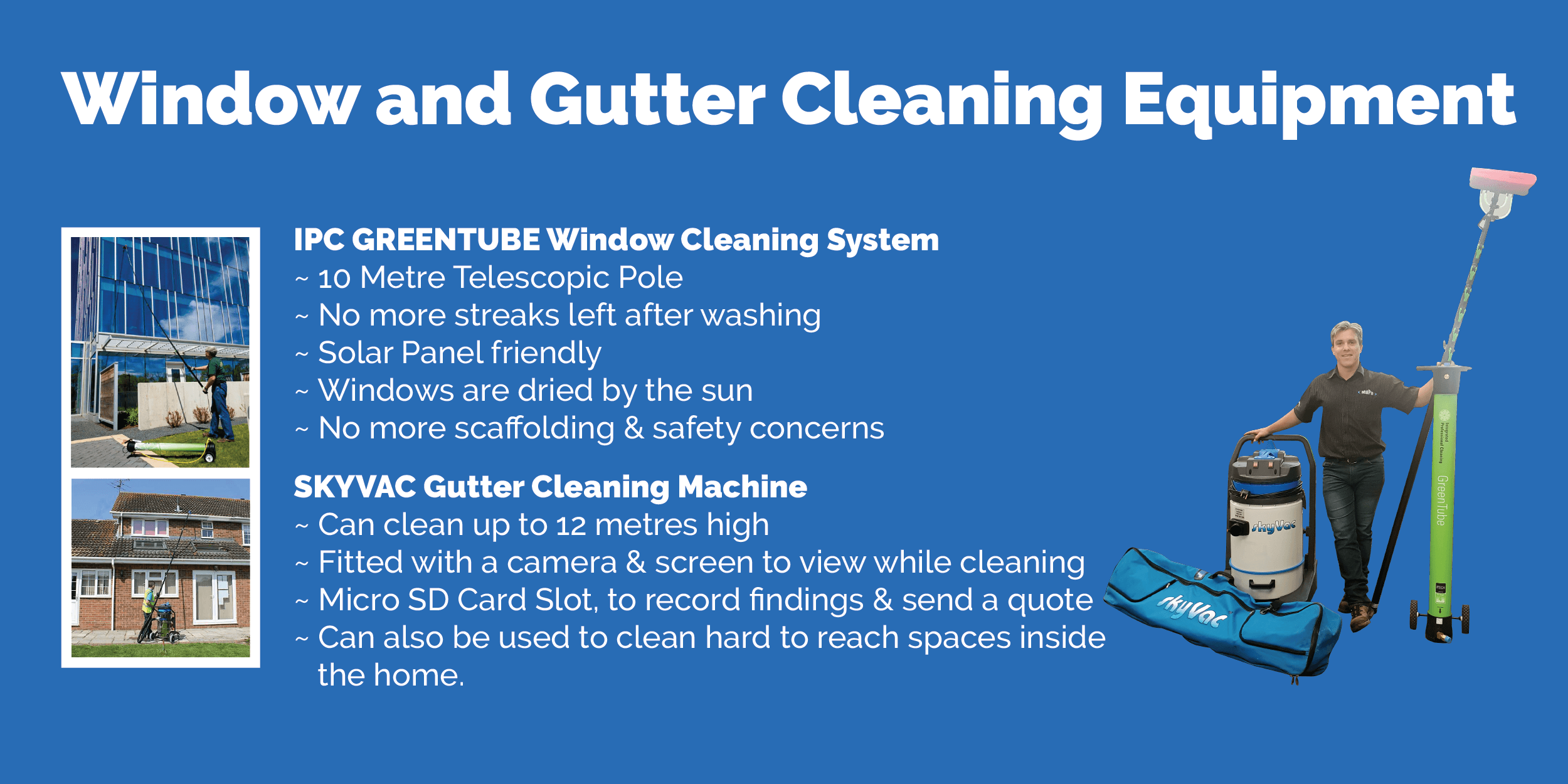 Window and Gutter Cleaning Brochure