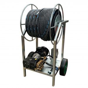 Ideal for use in a poultry house - pressure washer