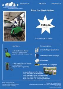 Car Wash Basic Option