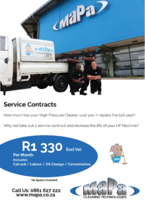Service Contracts for High Pressure Washers