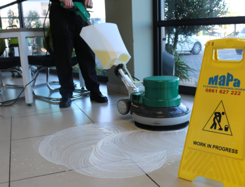 How To Use a Single Disc Floor Polisher/Scrubber