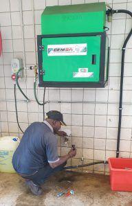 High Pressure Cleaner 50 Hour Oil Change