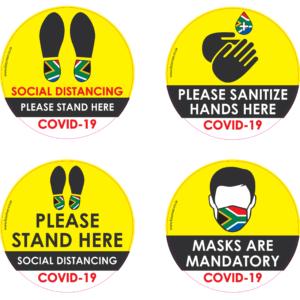 Covid 19 Stickers