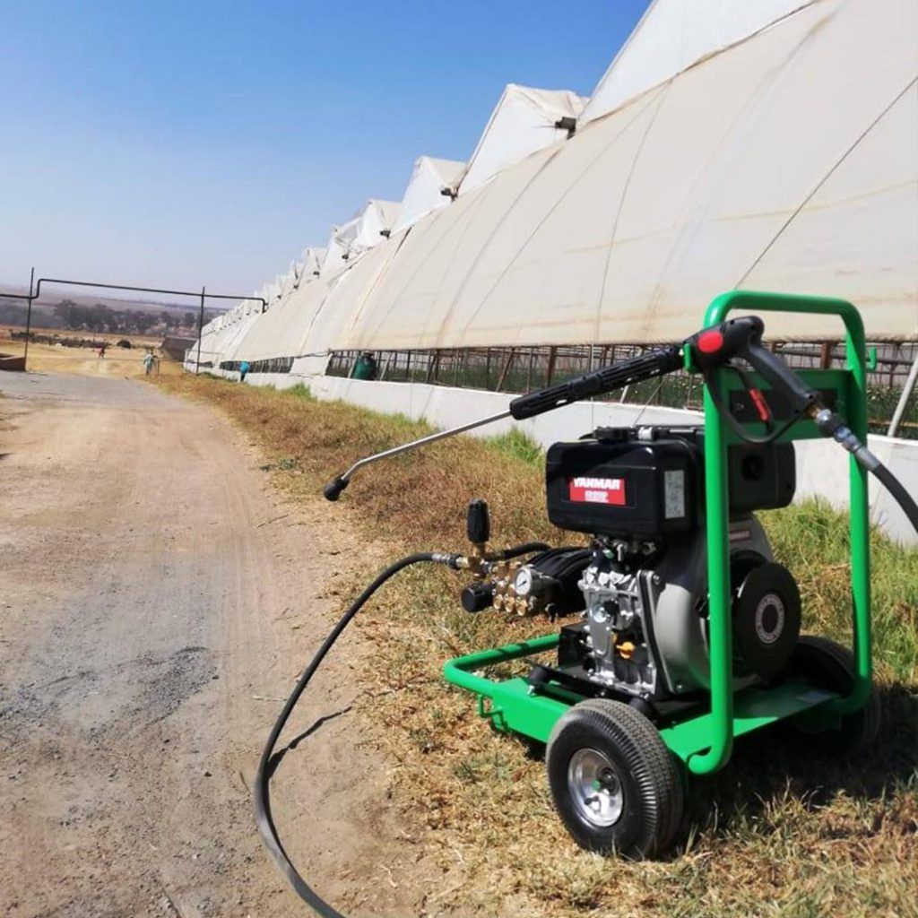 Mobile Petrol Pressure Washer MaPa Cleaning