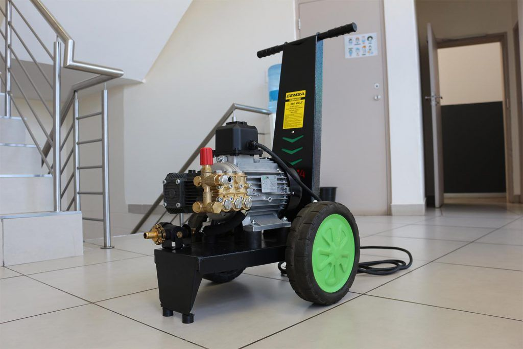 PWS Mobile Car Wash Pressure Washer MaPa Cleaning