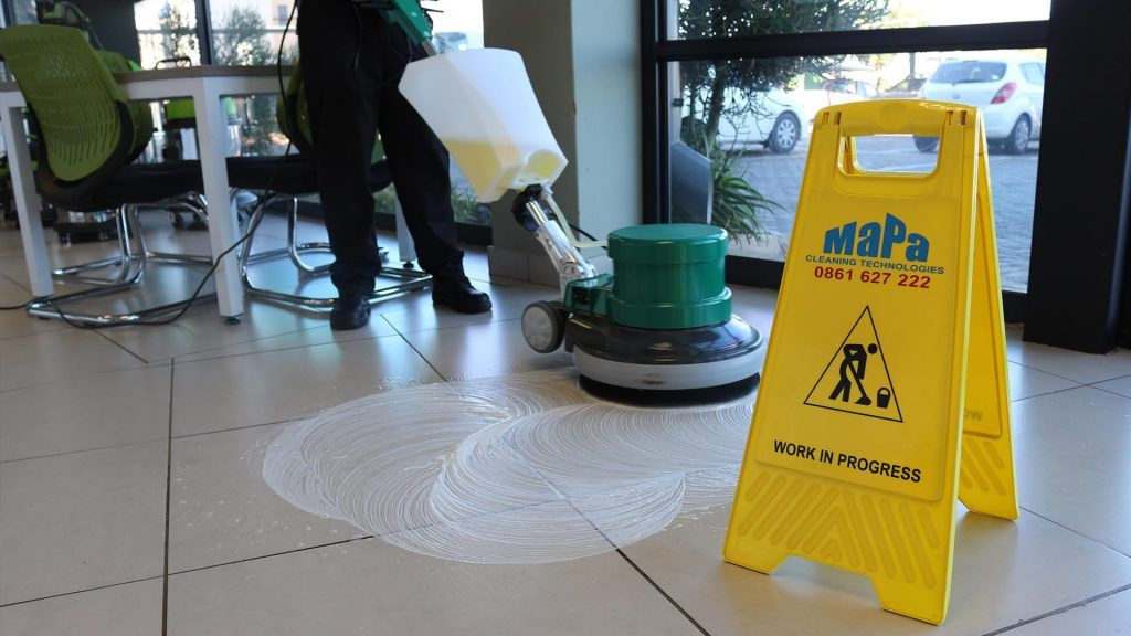 Contract Cleaning Polisher Single Disc HT-005 MaPa Cleaning