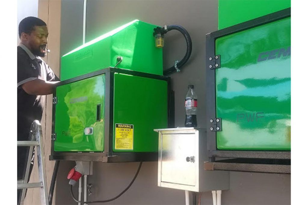 PWF Wall Mounted Pressure Washer MaPa Cleaning