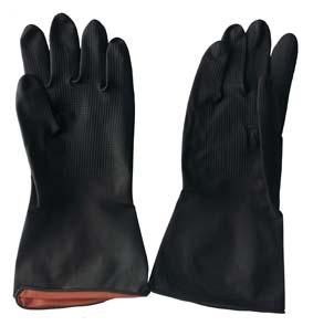 Black Builders Gloves Heavy Duty