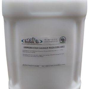 Ammoniated Cleaner with Fine Grit 25Lt