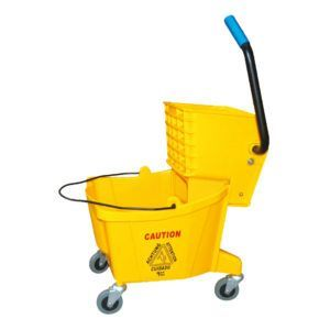 Single Mopping Wringer Bucket