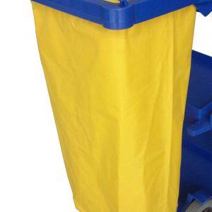 Nylon Bag Yellow / Blue
