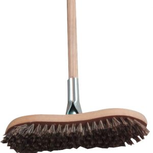 Deck Scrub Brush Complete With Handle