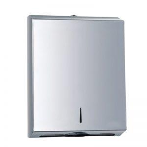 Large Stainless Steel Manual Paper Towel Dispenser