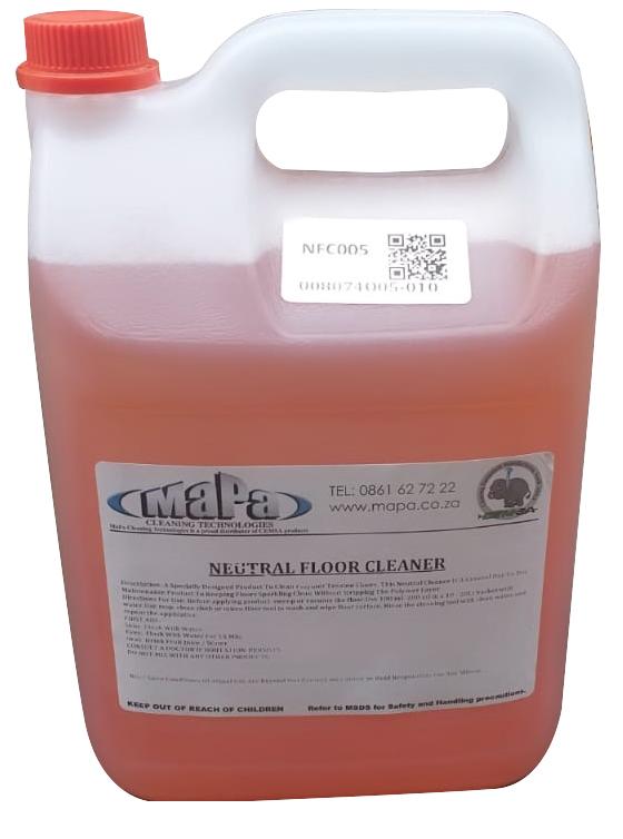 Neutral Floor Cleaner 5Lt