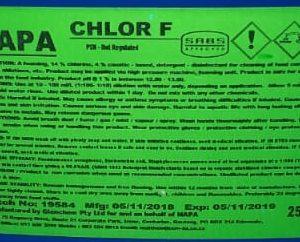 Chlor F 5Lt
