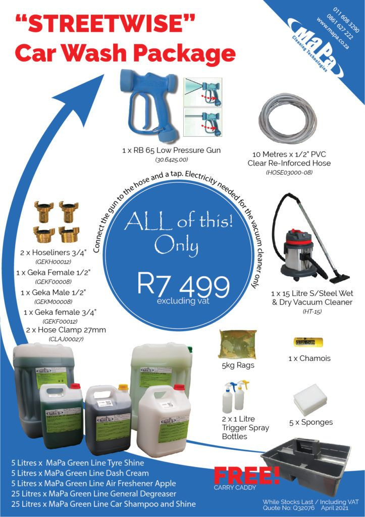 Car Wash Equipment Package